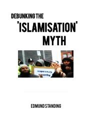 Debunking the 'Islamisation' Myth - Libcom