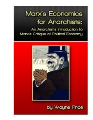 Marx's Economics for Anarchists - Zabalaza Books