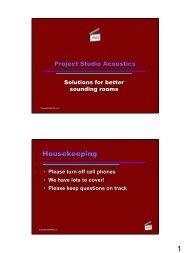 Presentation - AES San Francisco Main Page