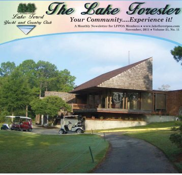 The Lake Forester - Golf Fusion