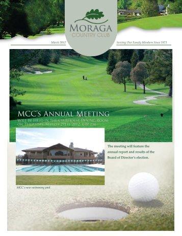 MCC's Annual Meeting - Golf Fusion