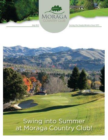 Swing into Summer at Moraga Country Club! - Golf Fusion