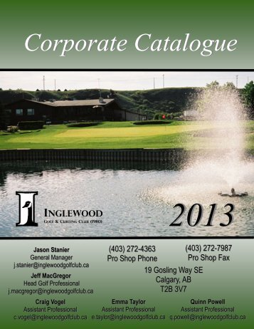2013 - Golf Fusion