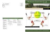 Moraga Country Club 1600 St Andrews Drive Moraga ... - Golf Fusion