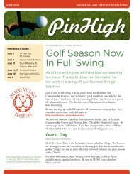 Golf Season Now In Full Swing - Golf Fusion