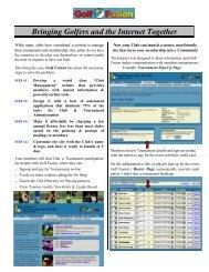 Download Brochure - Golf Fusion