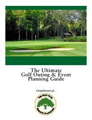 The Ultimate Golf Outing & Event Planning Guide - Golf Fusion