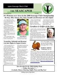 THE SEASCAPER - Golf Fusion