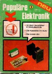 Heft 3 - Rainers - Elektronikpage