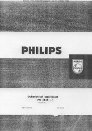 PHILIPS PM 3230 - Rainers - Elektronikpage