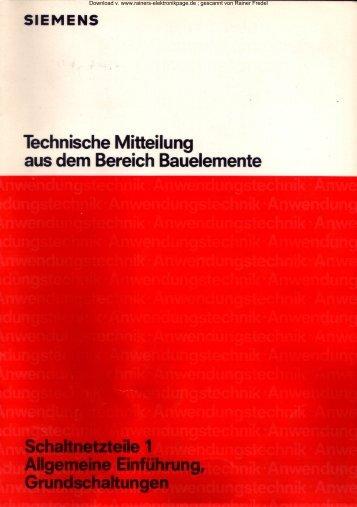 Heftserie Schaltnetzteile 1 - 5 zusammengefaßt - Rainers ...