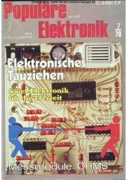 Heft 7 - Rainers - Elektronikpage