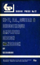 BABANI Design Handbook PDF - Rainers - Elektronikpage