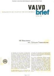 April ; NF - Bausteine mit Silizium - Transistoren - Rainers ...