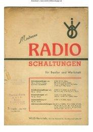 Moderne Radioschaltungen 1947 - Rainers - Elektronikpage