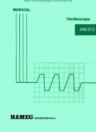 HM 512 - Rainers - Elektronikpage