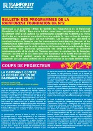 Campagne contre la construction du barrage de Pakitzapango - GITPA