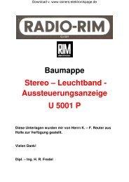 U 5001 P; Baumappe Profi - Rainers - Elektronikpage