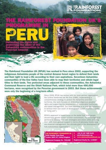 Download this publication - Rainforest Foundation UK