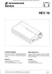 HEV 70 - Rainers - Elektronikpage