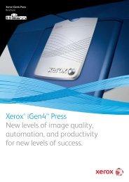 Brochure - Xerox iGen4™ Press (PDF, 700 KB)