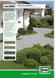 Datenblatt vdw 800.pdf - Raiss Baustoffe: Home
