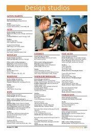 Design studios - Automotive News