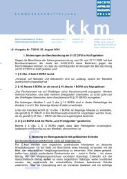 Ausgabe Nr. 7/2010, 25. August 2010 I. Änderungen der ...