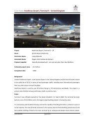 Case Study: Heathrow Airport, Terminal 5 – United ... - RAK Ceramics