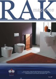 May 2007 - RAK Ceramics