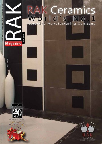 RAKMagazine - RAK Ceramics