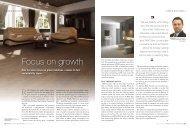 Focus on growth - RAK Ceramics