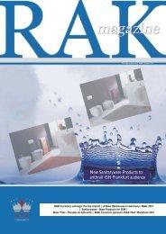 March 2007 - RAK Ceramics