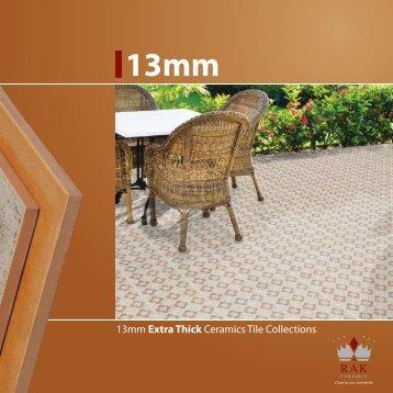 13mm Extra Thick Ceramics Tile Collections - RAK Ceramics