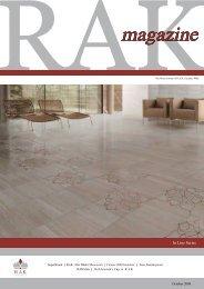 October 2009 - RAK Ceramics