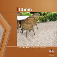 13mm Extra Thick Ceramics Tile Collections - RAK Ceramics