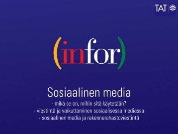 Sosiaalinen media Christina Forsgård - Rakennerahastot.fi