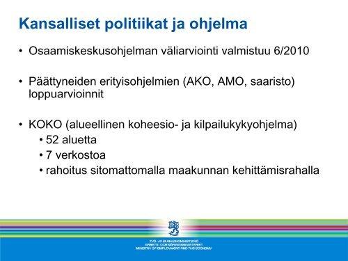 Ajankohtaista alue- ja rakennepolitiikassa - Rakennerahastot.fi