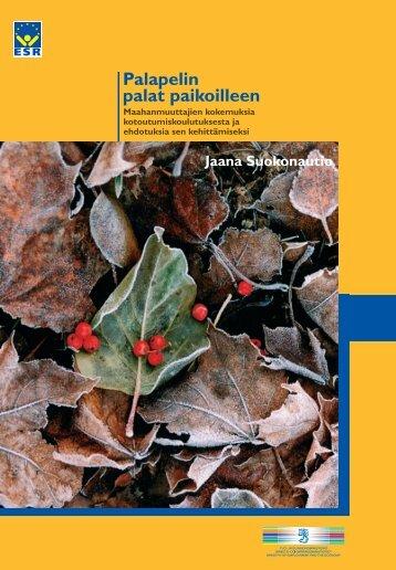 Palapelin palat paikoilleen - Rakennerahastot.fi