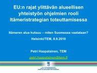 Euroopan alueellisen yhteistyön ohjelmat - Rakennerahastot.fi