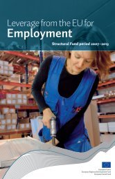 Leverage from the EU for Employment (pdf) - Rakennerahastot.fi