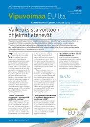 Rakennerahastojen uutiskirje nro 3 17.12.2009 - Rakennerahastot.fi