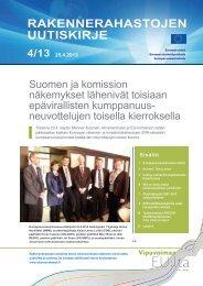 RakenneRahastojen uutiskiRje - Rakennerahastot.fi