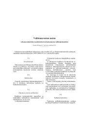 Valtioneuvoston asetus - Rakennerahastot.fi