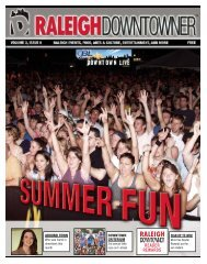 downtowner june 2007 full c.qxd (Page 5) - Raleigh Downtowner