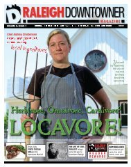 Locavore! - Raleigh Downtowner