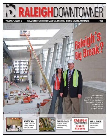 Volume 4, Issue 3: Raleigh's Big Break? - Raleigh Downtowner