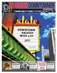 plain PDF file (8.9 mb) - Raleigh Downtowner
