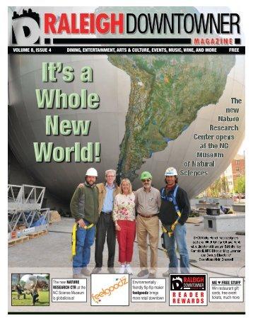 Raleigh Downtowner Magazine, Volume 8 Issue 4