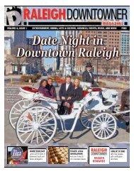 Raleigh Downtowner Magazine, Volume 6 Issue 1